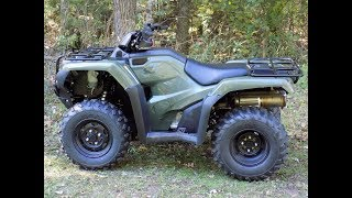 5. Honda Rancher ATV