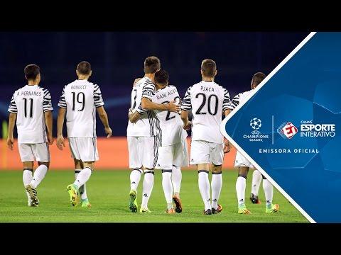 melhores momentos - Dinamo Zagreb 0 x 4 Juventus - Champions League