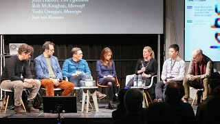 "TYPO Labs | Panel Discussion: ""Liberating Digital Type from the Metal Rectangle"""