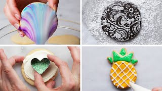 Easy Cookie Decorating Tips and Tricks by Tasty