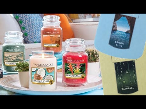 NEW Yankee Candle Summer 2018 Preview - Yankee Candle UK/USA