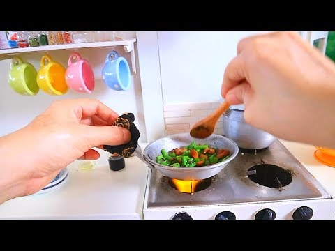 S2 EP35:  ASMR COOKING Adobong Sitaw [JUST LIKE HOME KITCHEN SET MINIATURE COOKING]