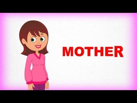 Ailem ve Ben, Mother – Çocuklar İçin İngilizce Öğrenme Videosu