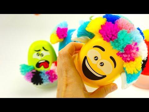 Распаковываем забавную игрушку для детского творчества - DomaVideo.Ru
