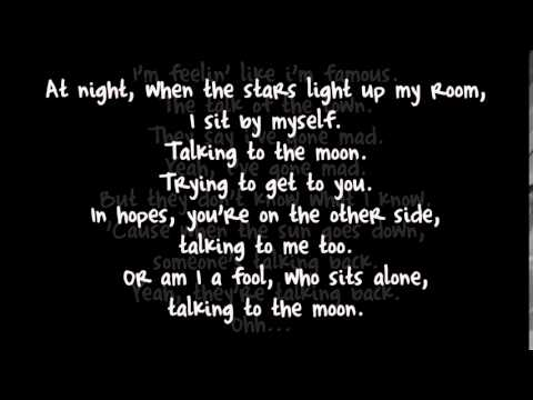 Talking To The Moon   Bruno Mars Lyrics