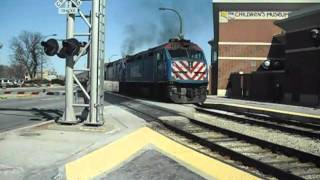 Oak Lawn (IL) United States  city pictures gallery : Metra Trains at Oak Lawn IL