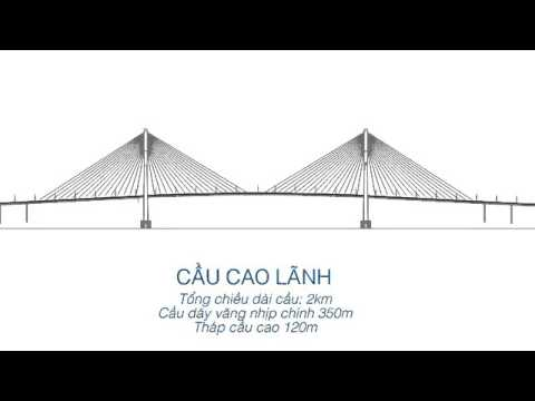Phim 3D về dự án cầu CAO LÃNH Cao Lanh bridge Project YouTube