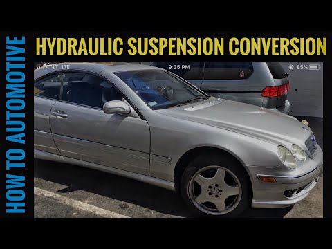 How to Convert a 1999-2006 Mercedes CL 500 from Hydraulic Struts to Coil Overs with Strutmaster Kit