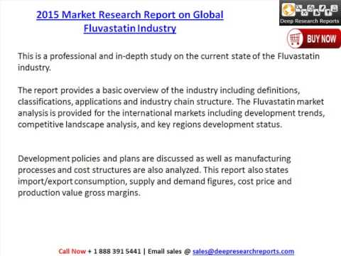 Global Fluvastatin Industry Trends, Share, Profit & 2020 Forecast