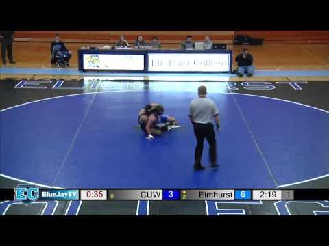 2015-01-09 Elmhurst College Wrestling vs Concordia University Wisconsin