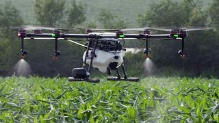 Farmers are required to manage acres of farmland at a time, and have recently begun to tap into aerial technology to do so efficiently and sustainably. DJI M...