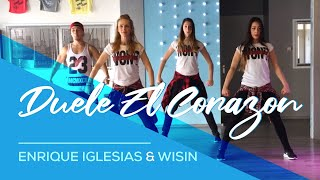 Video Duele El Corazon - Enrique Iglesias ft Wisin - Fitness Dance Choreography MP3, 3GP, MP4, WEBM, AVI, FLV September 2017