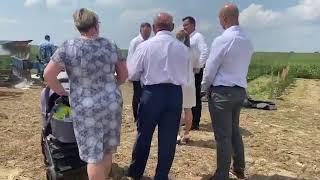 Niespodziewana wizyta Andrzeja Dudy zaskoczyła rolników pracujących w polu. 😂