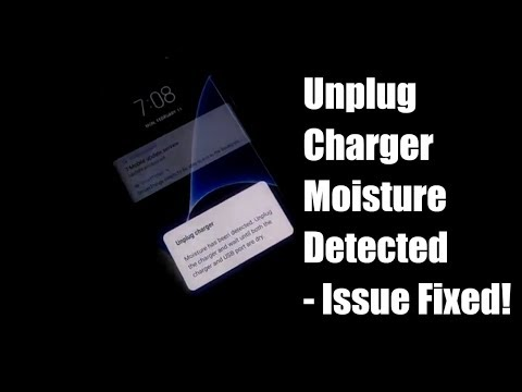 Unplug Charger Moisture Detected - Fixed!