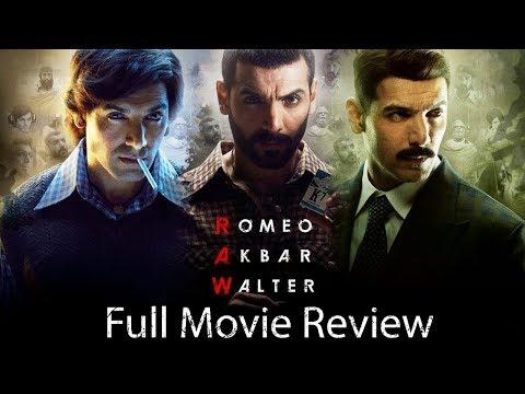 Romeo Akbar Walter | Full Movie Review | John Abraham | Mouni Roy | Jackie Shroff