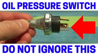 9. Low Oil Pressure Sensor Almost Destroyed My Engine!