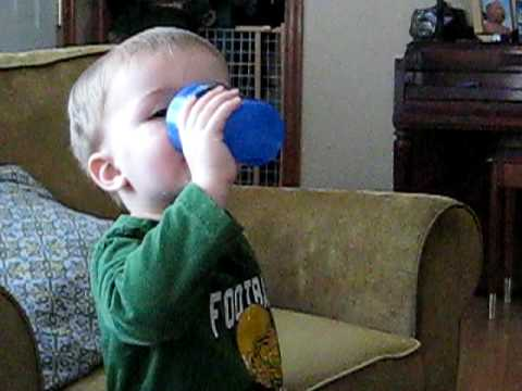Toddler with a Drinking Problem