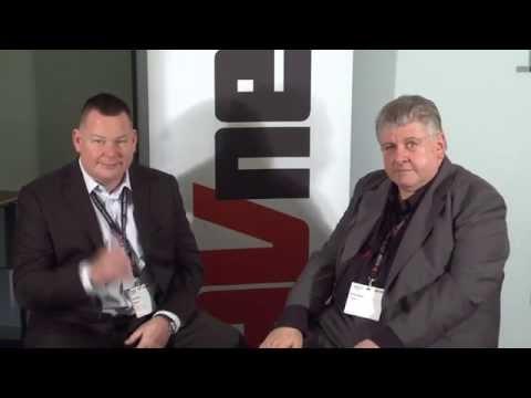 AV News ISE 2015 interview with Gordon Dutch