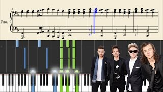 One Direction - If I Could Fly - Piano Tutorial + Sheets