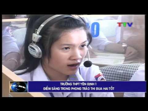 Trường THPT Yên Định 1: Điểm sáng trong phong trào thi đua hai tốt