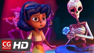 "Video CGI Animated Short Film ""Dia de los Muertos"" by Ashley Graham, Kate Reynolds, Lindsey St | CGMeetup MP3, 3GP, MP4, WEBM, AVI, FLV Oktober 2018"