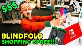 Video Buying EVERYTHING I Touch Blindfolded! **NO BUDGET CHALLENGE** MP3, 3GP, MP4, WEBM, AVI, FLV Januari 2019