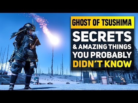 Ghost of Tsushima Secrets and Amazing Things You Probably Didn't Know! (Ghost of Tsushima Details)