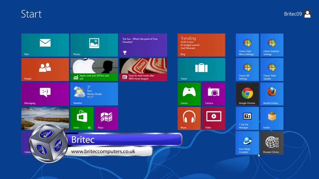 Show Hidden Files and Folders in Windows 8 by Britec