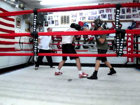 The Saturday Night Sizzler at Cappy's Boxing Gym – Ben vs. Eric Round 2