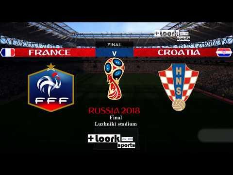 France vs Croatia - All Goals & Highlights