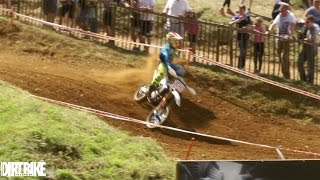 Blaxhall United Kingdom  city pictures gallery : Steven Clarke CRASH at Blaxhall - Maxxis British Motocross