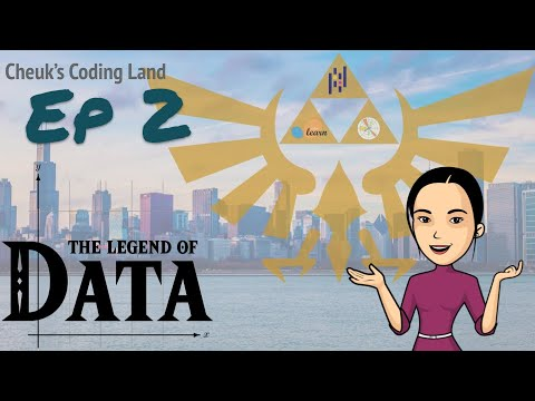 The Legend of Data - Ep.2 - Pandas basics 1