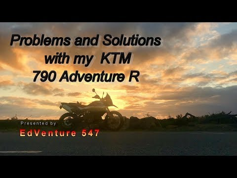 KTM 790R Adventure - Teething Problems and Solutions