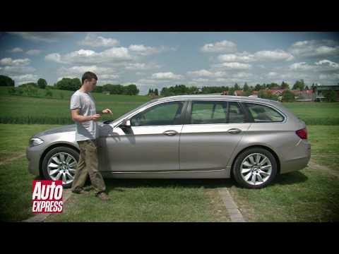 BMW 5 Series Touring Video Review – Auto Express