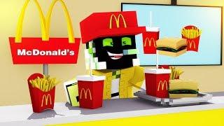 Video MEIN NEUER JOB bei McDonalds! - Minecraft [Deutsch/HD] MP3, 3GP, MP4, WEBM, AVI, FLV April 2018