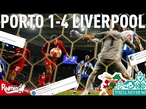 Porto V Liverpool 1-4 | #LFC Fan Twitter Reactions