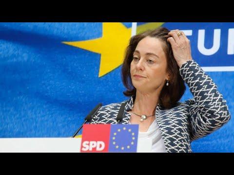 Europawahl: SPD und Union historisch schwach, Grüne j ...