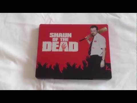 Shaun Of The Dead UK Blu-ray Steelbook Unboxing