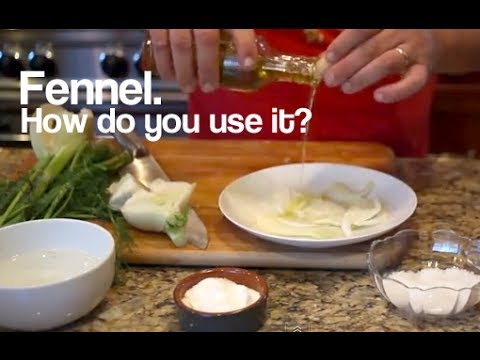How to Clean, Prepare, Cook and Use Fennel, with Some Simple Recipes, Ask Chef Tony, Episode 2