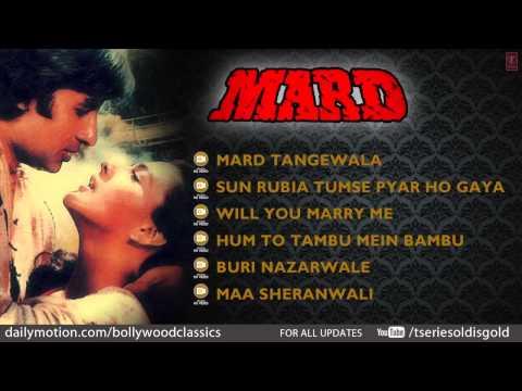 Video Mard Movie Full Song | Amitabh Bachchan, Amrita Singh | Jukebox download in MP3, 3GP, MP4, WEBM, AVI, FLV January 2017