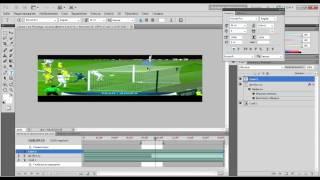Как сделать видео баннер в фотошоп