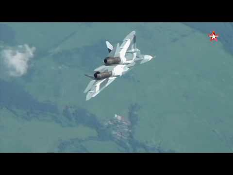 Проверка на прочность: Момент разрушения крыла новейшего истребителя Су-57
