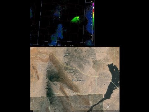 plume - Must see the update video linked here below...... The plume indeed carried on over Amarillo, and settled out in Oklahoma!! https://www.youtube.com/watch?v=K4...