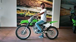 9. Kawasaki off road bike | Kawasaki KLX 140