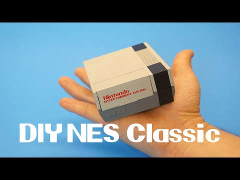 Build your own NES Classic with a Raspberry Pi 3 and Retropie!