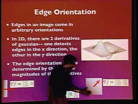 edge lecture - Lecture 03: The lecture covers edge and corner detection using the Canny and Harris corner detector methods.