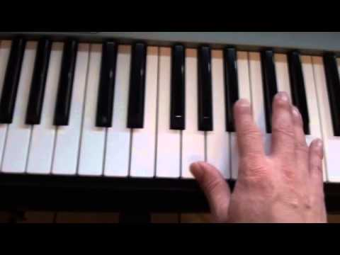 How to play Sail on piano - Awolnation