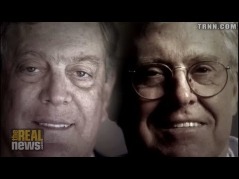 Koch - Greg Palast: Koch brothers could save two billion dollars a year if they can replace Venezuelan heavy crude crude with Canadian tar sands - one of the dirtie...