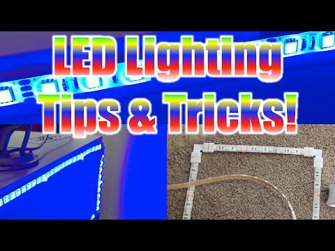 LED Strip Lighting Tips For Gaming & Desk Setups (90-degree Angles & Custom Mounts)