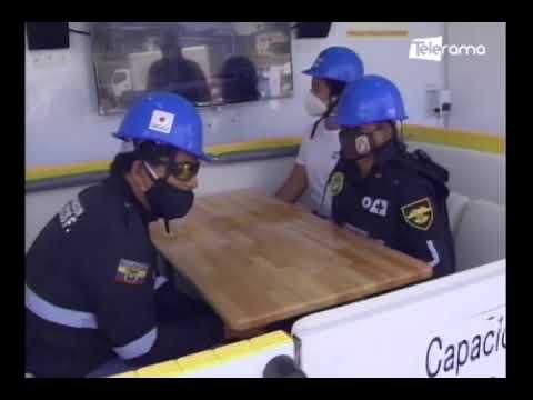 Vehículo simulador de sismo busca prevenir a las personas ante este desastre natural